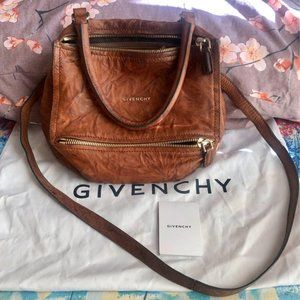 Authentic Givenchy Pandora Pepe Leather Small